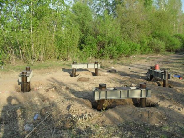 Изначально сваи винтовой конструкции были разработаны для таких видов строительных работ, как сооружение мостов или